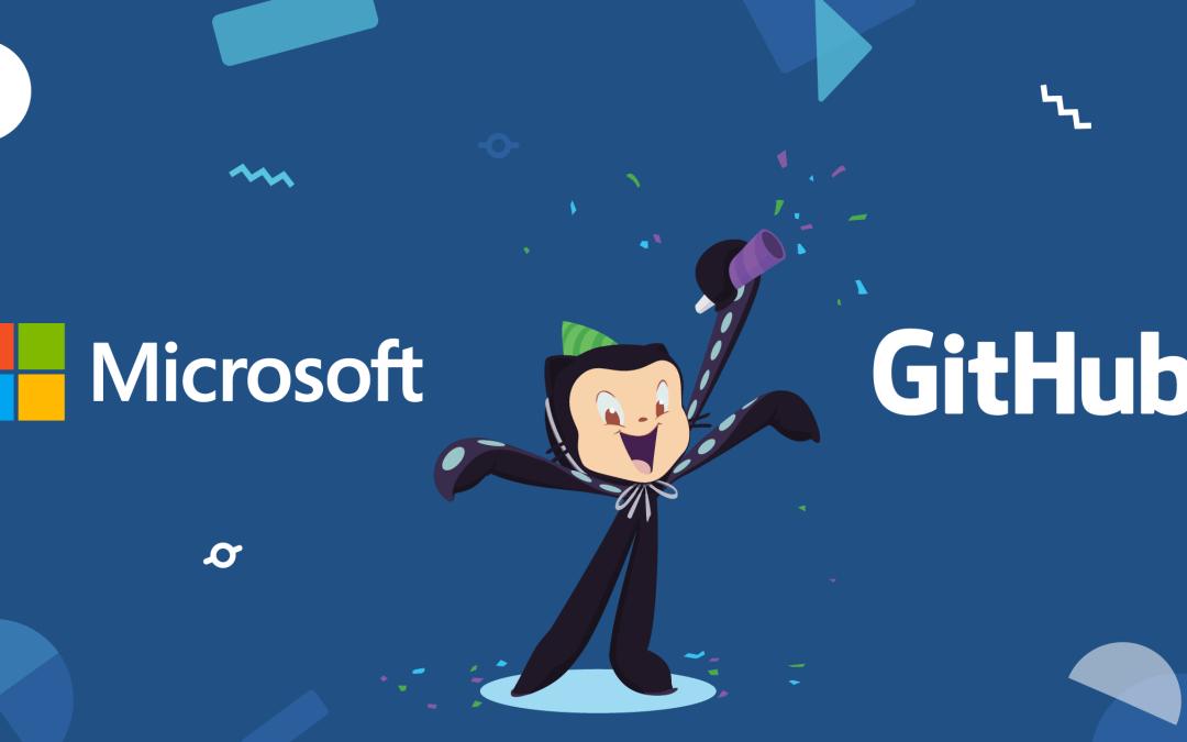 Microsoft po blen GitHub! Një e ardhme e ndritshme për GitHub.