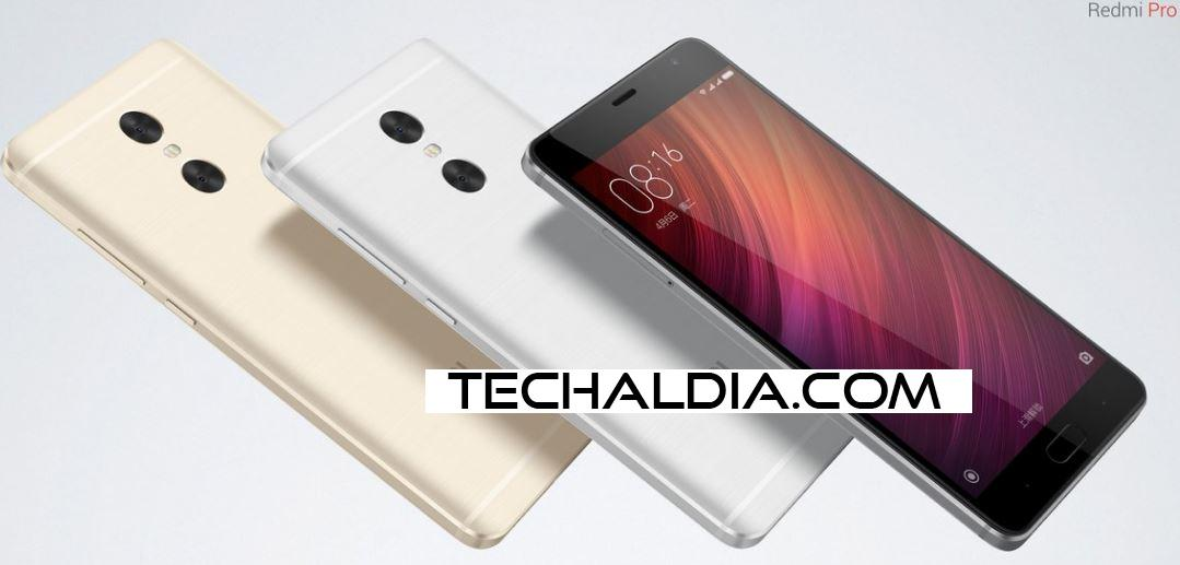 Xiaomi Redmi Pro doble cámara. Phablet de 5,5 pulgadas.