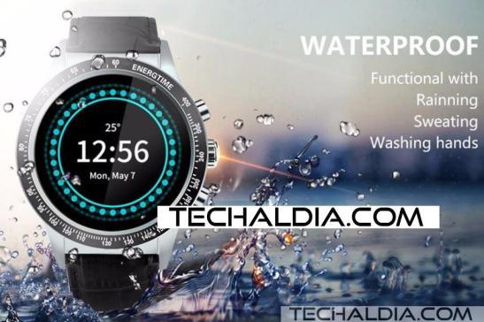 y3 smartwatch resistente agua techaldia.com