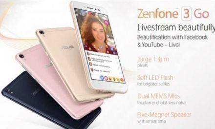 Filtrado el nuevo Asus ZenFone 3 Go y sus características