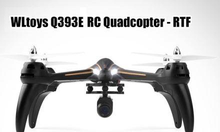 WLtoys Q393E – Drone con FPV y cámara de 720p