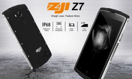 ZoJi Z7 – Smartphone todoterreno a precio de derribo