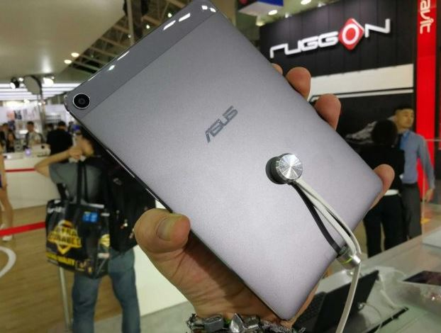 Asus ZenPad 3S 8.0 parte trasera