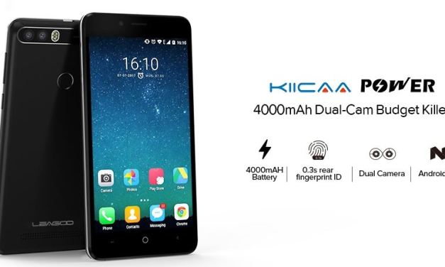 LEAGOO KIICAA Power – Doble cámara y 4000 mAh