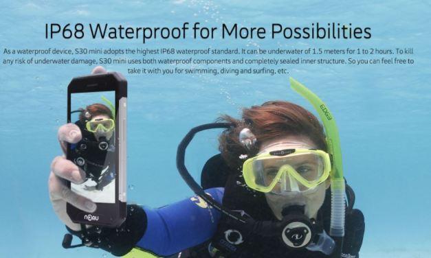 NOMU S30 mini – Para usarlo debajo del agua?