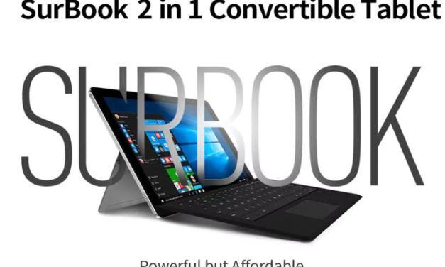 Chuwi Surbook – Tablet PC 2 en 1 próximamente a la venta