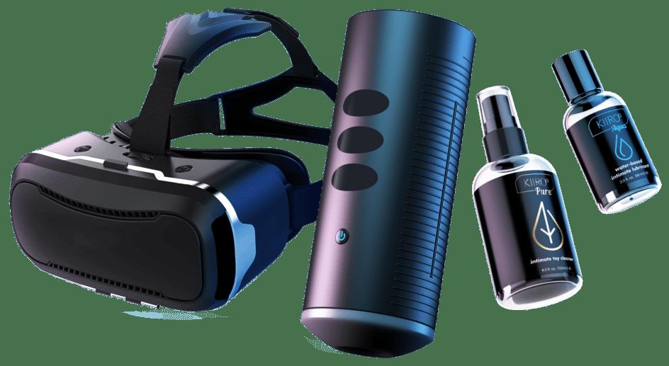 VR sex toys from Kiiroo