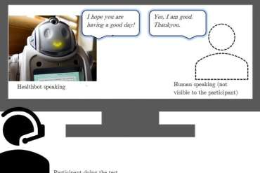 Can the voice of healthcare robots influence how they are perceived by humans?