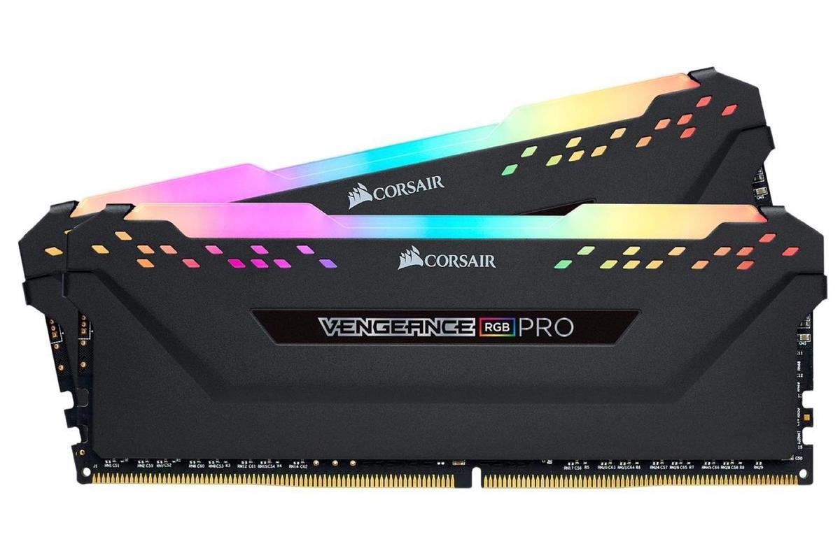 Corsair Vengeance RGB Pro 32GB (2 x 16GB) 288-Pin DDR4 3600 (PC4 28800)