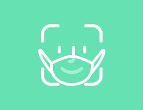 FaceID Masked Teal