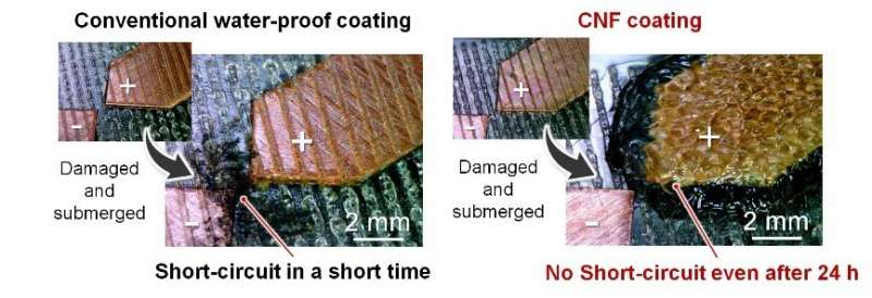Cohesive circuit protection for wearable electronics