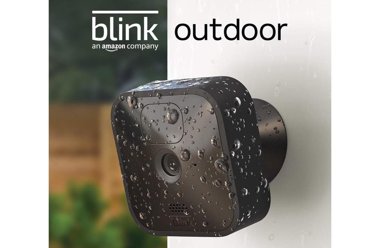 Blink Outdoor wireless, weather-resistant HD security camera