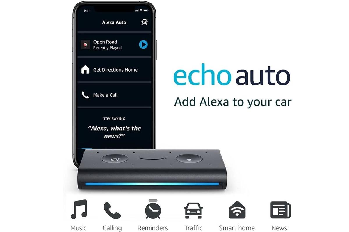 Awesome Deal: Echo Auto - Alexa in your car