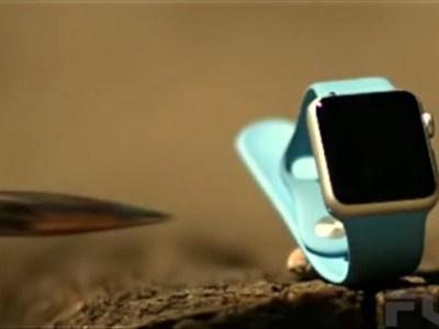 O que acontece quando um Apple Watch é atingido por um tiro de calibre .50