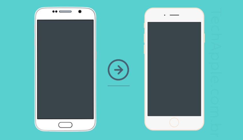 Como migrar arquivos/conteúdo do Android para iPhone sem computador