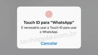 Touch ID - WhatsApp