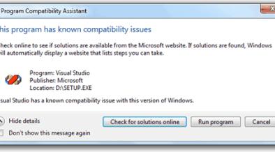 installing vb6 on windows 10 not responding