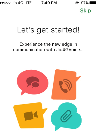 How to use Jio 4G Voice App to make VoLTE Calls on iPhone 5s & 5C / iPhone 5 & 4