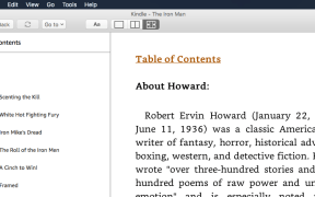 Amazon Kindle Mobi Reader for Mac OS X