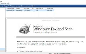 Windows Fax & Scan Utitlity