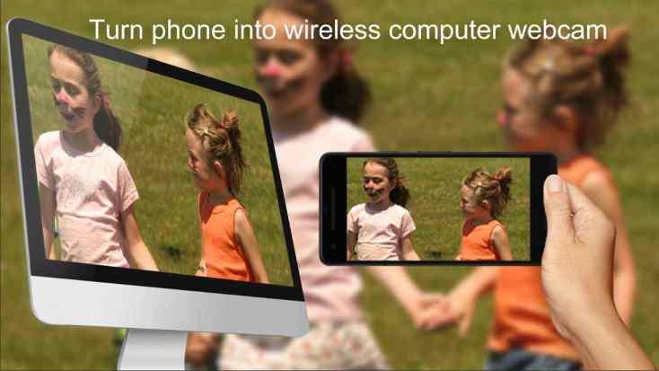 smartphone as wireless webcam