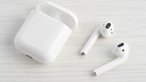 Apple AirPods 3 are shown in the pictire
