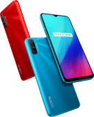 Picture showing Realme C3 smartphone