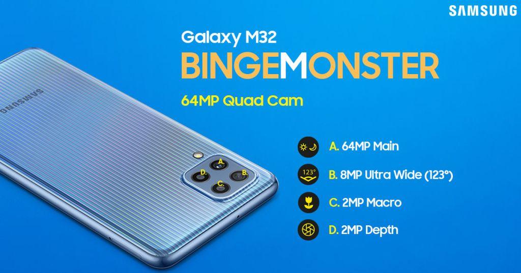 Galaxy M32 Camera-Binge Buddy