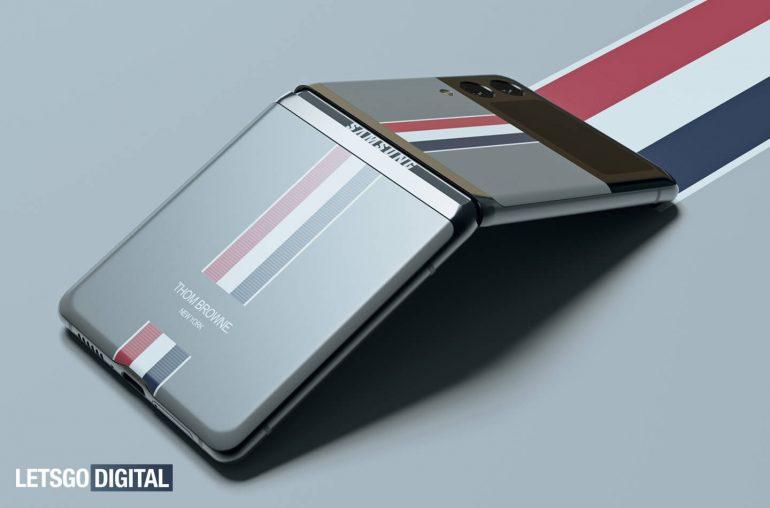 Samsung Galaxy Z flip 3 Thom Browne Edition