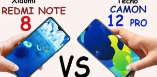 Xiaomi Redmi Note 8 Pro vs Tecno Camon 12 Pro