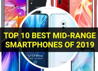 Best mid-range smartphones of 2019
