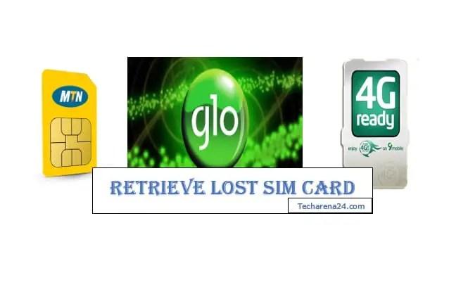 Retrieve Lost SIM Card