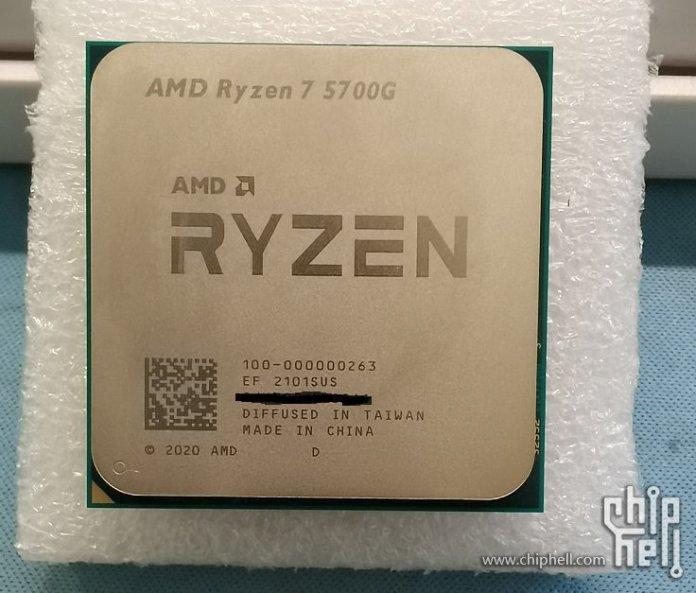 AMD Ryzen 7 5700G Picture