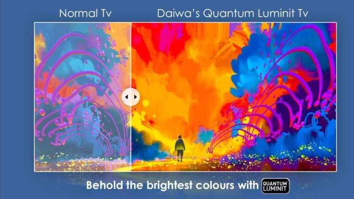 Daiwa 4k TV Quantum Luminit
