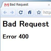 400 http