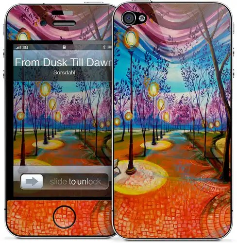 The new Dusk to Dawn iPhone 5 skin