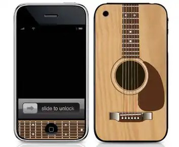 Guitar iPhone 5 skin for iPhone 5