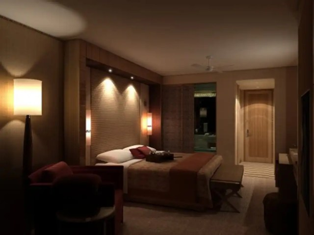 Display Lighting design in a bedroom by expert