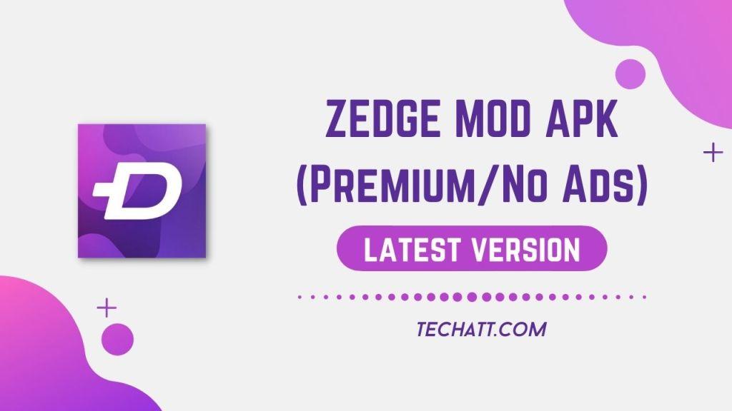 ZEDGE MOD APK (Premium/No Ads)