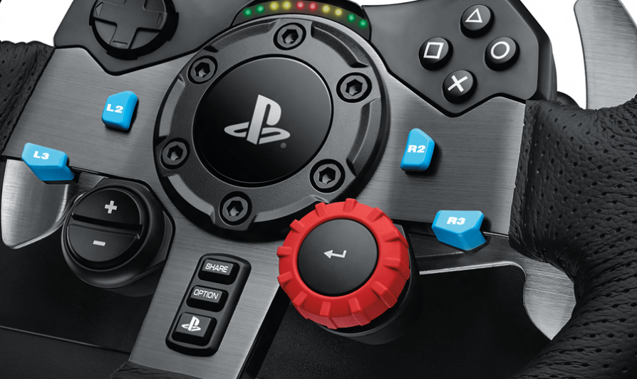 Logitech G29 Driving Force for PS4 gets official, Xbox and PC coming