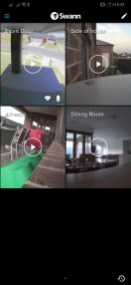 Swann mobile app (multiple cams)