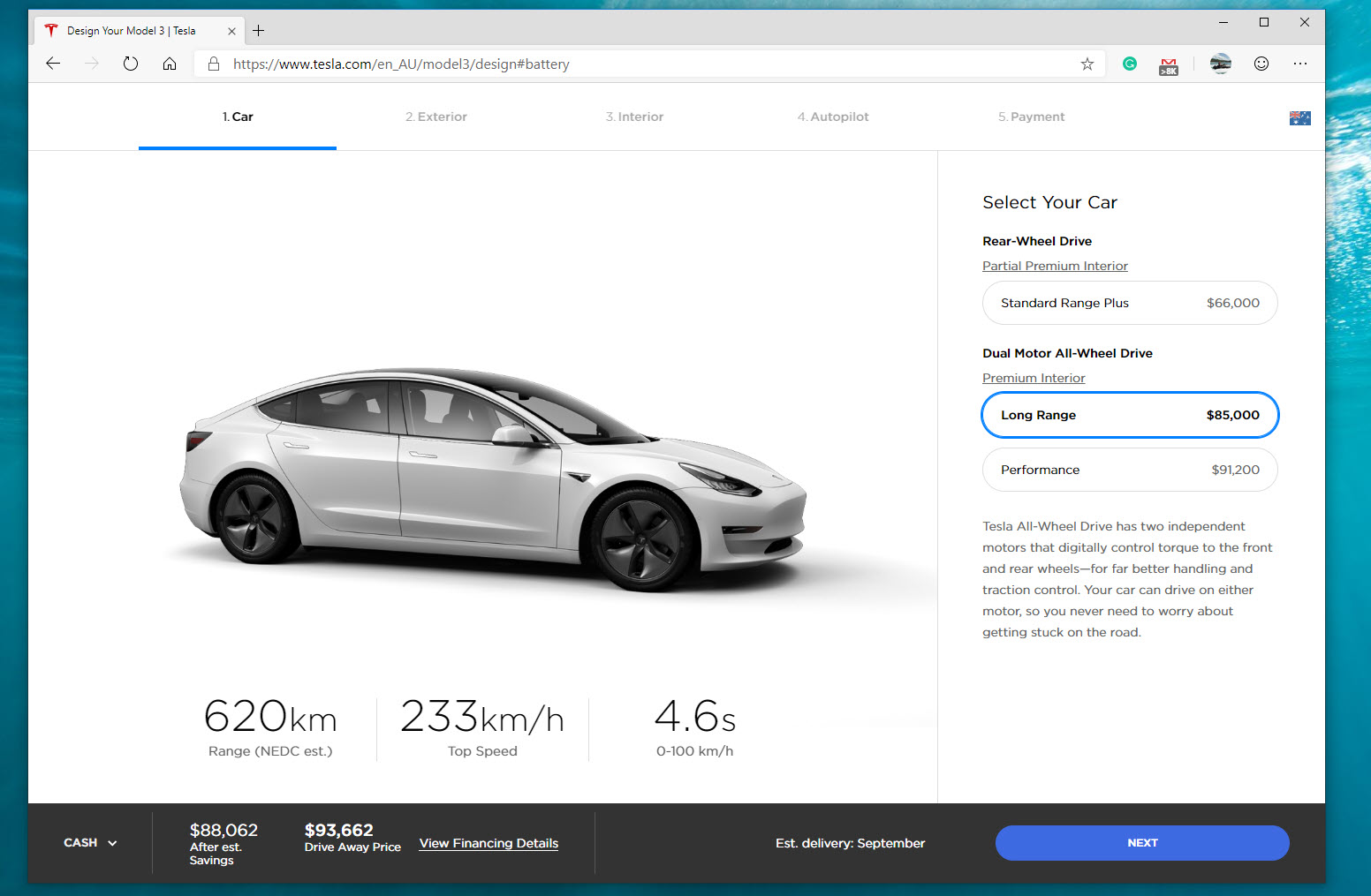Tesla changes pricing, configurations for Model S, X, 3