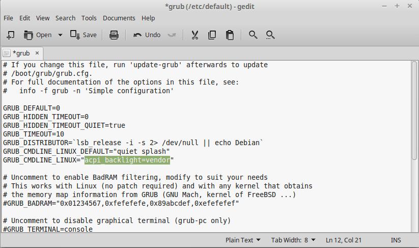 How to control brightness using function keys in Ubuntu / Linuxmint