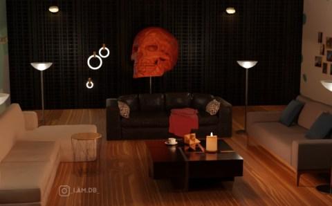 skull interior01