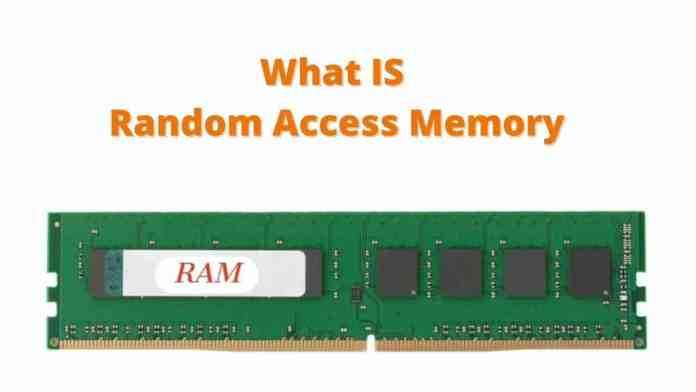 RAM क्या है और RAM के प्रकार, RAM क्या है.