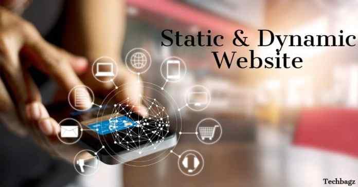 Static And Dynamic वेबसाइट क्या है
