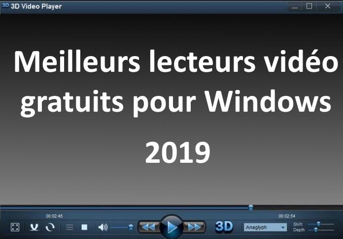 lecteurs vidéo Gratuits pour Windows