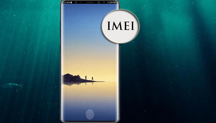 Trouver le Numéro IMEI sur Galaxy Note 9