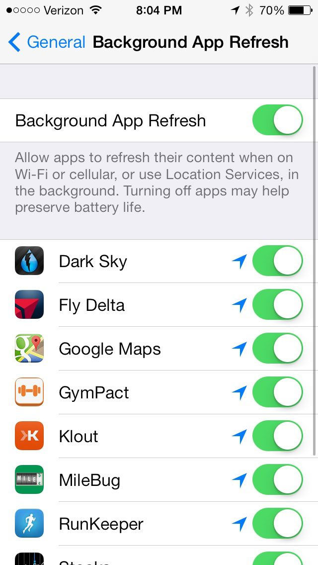 how to make iphone minimal turn off all apps