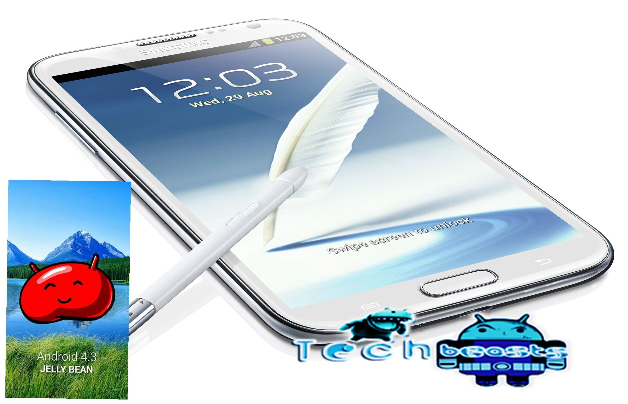 How to Update Samsung Galaxy Note 2 GT-N7100 to Android 4 3 Leaked